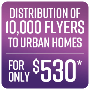 Flyer Distribution - March special offer