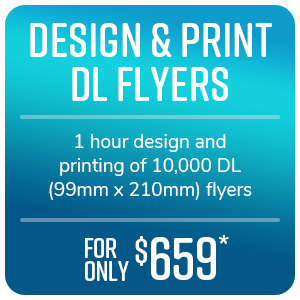 Flyer Print and Distribution - March special offer